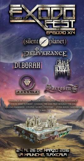 Exodo Fest poster 2